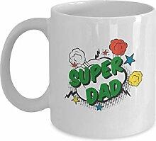 Super Dad Becher