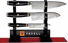 Super Gou Ypsilon Damastmesser-Set Yaxell 3 Stück