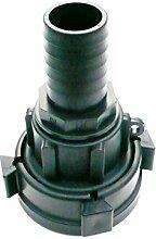 Super Heavy Duty drehbaren IBC Adapter auf 32mm (1.1/10,2cm) Widerhaken Schlauch Schwanz. Öl Diesel Wasser