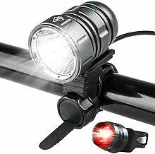 Super Helle Wasserdichtes LED-Front Taschenlampe