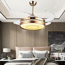 Super Leise Ventilator mit Licht LED Modern