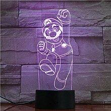 Super Mario 3D Optische Täuschung