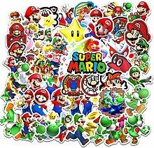 Super Mario Aufkleber 100 Stück / Los Mario