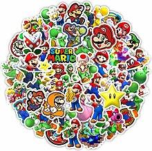 Super Mario Aufkleber 100 Stück / Los Mario Super