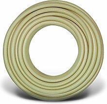 SUPER-NOBELAIR Tricoflex Druckluftschlauch Kompressorschlauch PVC beige, 6,3 x 2,35mm 50m