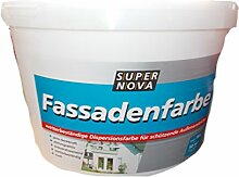 Super Nova Fassadenfarbe 10 Liter