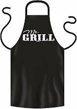 super Outfit am Grill .Grillschürze Goodman Design : Mr. GRILL