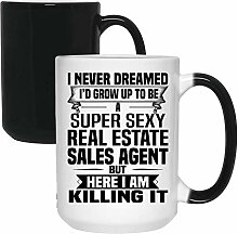 Super Sexy Real Estate Sales Agent Tasse –