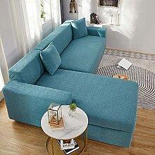 Super Stretch Sofabezug L Form beige Sofa