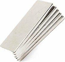 Super Strong Extra Lang 58mm x 10mm x 5mm Rare Earth Neodym-Block Bar Magnete Grade N35, 20pcs