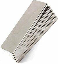Super Strong Extra Lang DIY Craft indstrial mit 64mm x 12mm x 5mm Rare Earth Neodym-Block Bar Magnete Grade N35, 10 Stück