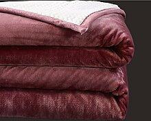 Super Weich Double Layer Decke,Die Sherpa Warm