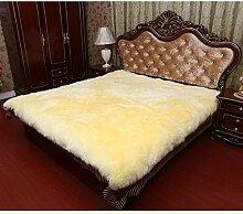 Super Weiche Hand Fertige Wolle Schaffell Teppich