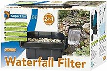 Superfish Wasserfall-Filter, 2in1-Teichfilter für