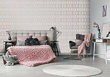 Superfresco Easy Pink Albany Strukturtapete,