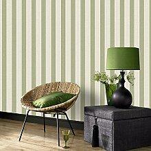 Superfresco Streifentapete Mustertapete für Wohnzimmer Schlafzimmer Grün/Crème