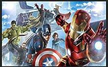 Superheld Avengers Liga-wandaufkleber Iron Warrior