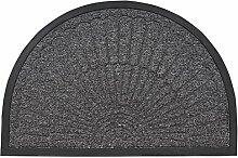 Superio Fußmatte aus Kokosfaser, halbrund, 61 x