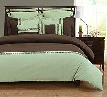 Superior - 7-teiliges, knitterfestes Bettbezugsset