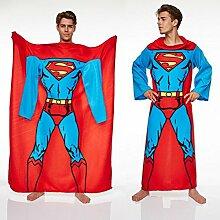 Superman Decke mit Ärmeln