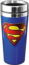 Superman Thermobecher - Superman Logo Kaffeebecher Becher Superman Kaffeetasse