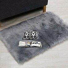 SuperMee Flauschiger Teppich Schlafzimmerteppich