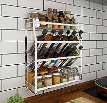 Supershu Küchenregal für Gewürzglass Kräuter-