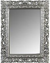 SuperStudio Wandspiegel Rococo Silber