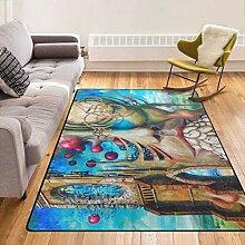 Superweicher Teppich mit Rutschfester