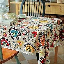 Superwinger Tischdecke, Vintage, mit Spitze,