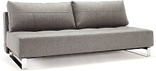 Supremax - Schlafsofa - Twist Charcoal