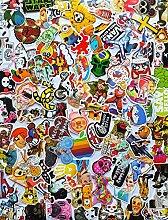 Supreme Aufkleber Vinyl Musik Film Skateboard