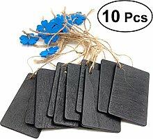 Supvox 10 stücke Kleine Tafel Tafel Hängen