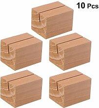 SUPVOX Holz Kartenhalter Platzkarte