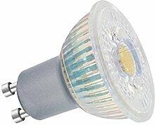 Sure LED Lampe, Nicht Dimmbar, Warmes Licht, Leuchtmittel, glas, Weißes Licht, GU10, 50 wattsW