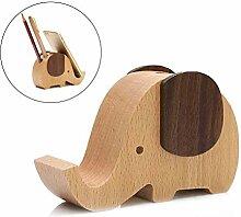 Surenhap Handy-Ständer, Handyhalter aus Holz