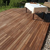 Surinamholz Guyana Teak Terrassendiele 1 m2 (Dielenbreite 140 mm)