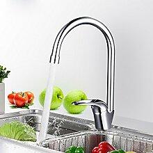 Sursy küche wasserhahn, waschbecken mit heißen und kalten wasserhahn voll kupfer, kupfer revolvierende waschbecken führen,ein