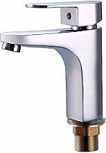 Sursy Wasser Heizung Sanitär Kupfer heißen und kalten Becken Armaturen, Waschbecken - Wasser Kupfer