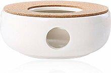 SURUDI Teekanne Basis Porzellan Heizung Keramik