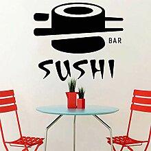 Sushi Bar Wandaufkleber Japanisches Essen Vinyl