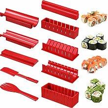 Sushi-Maker-Set, 10-teilig, Sushi-Maker-Werkzeuge
