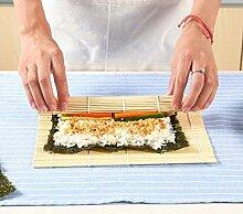 Sushi-Set, Bambus, Rollmatte, Reispaddel,