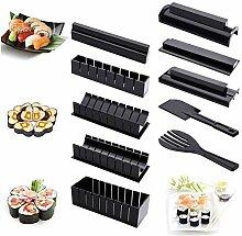 Sushi-Set für Anfänger, 10-teilig, Kunststoff,
