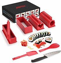 Sushi-Set für Anfänger, Kunststoff,