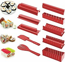 Sushi-Set mit komplettem Sushi-Set, 10-teilig,