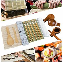 Sushi-Set, Sushi-Rollmatte, Reisstreuer,