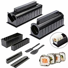 Sushi-Set zum Selbermachen, 10-teiliges Sushi-Set