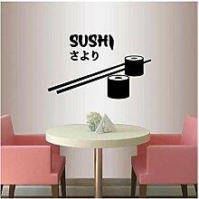 Sushi Wandaufkleber Abnehmbare DIY Film Tiere