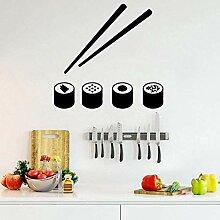 Sushi Wandaufkleber Moderne Innenkunst